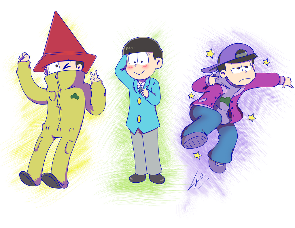 Jyushi Choro and Ichi by kuki4982