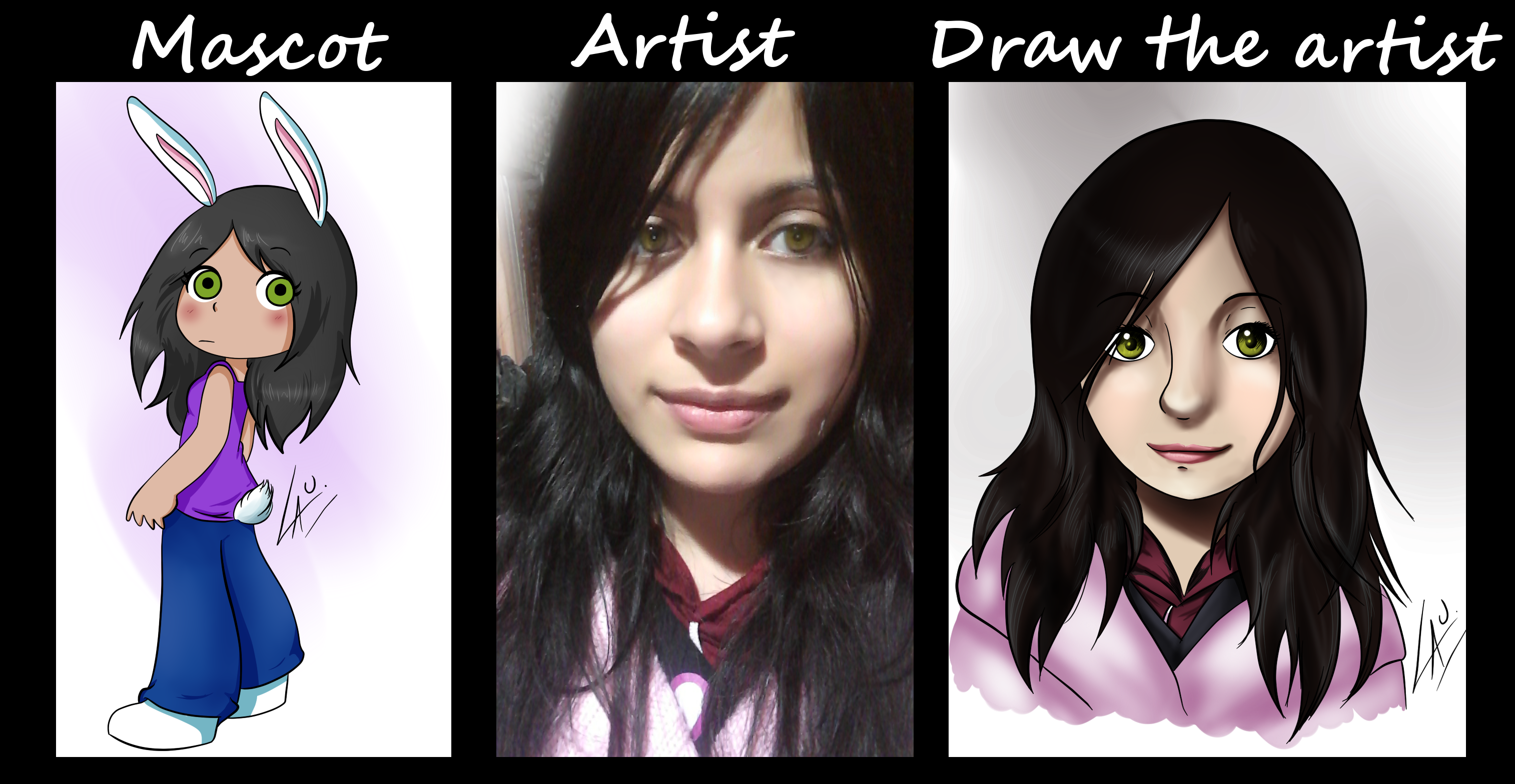 Draw the artist meme by kuki4982