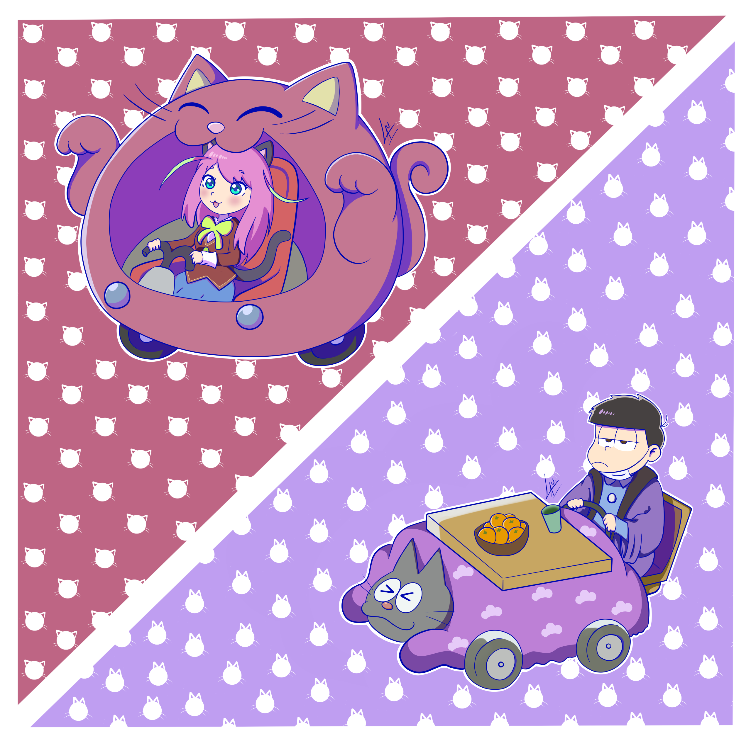 Cat Cars xD by kuki4982