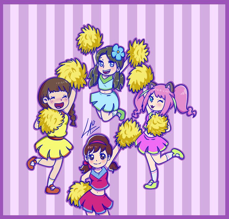 Cheerleaders by kuki4982