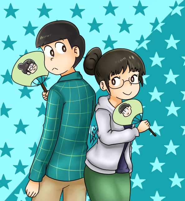 Choromatsu and Choroko by kuki4982