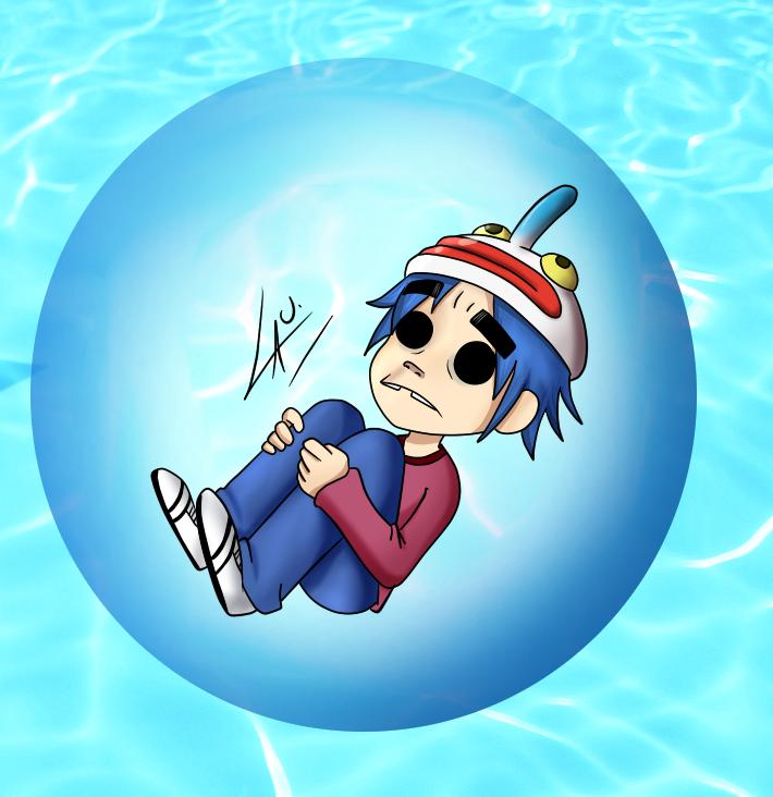 2D Clown mask Bubble by kuki4982