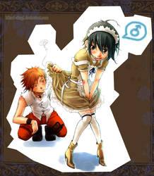 Maid boy by Hikari-Akagi