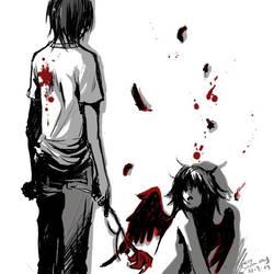 -kill the angel- by Hikari-Akagi