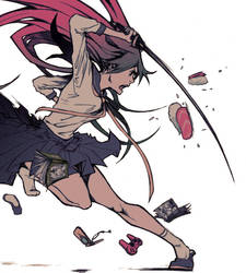 Cartel Salon Manga XVI by Hikari-Akagi