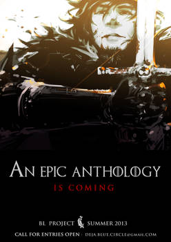 An epic anthology is coming...