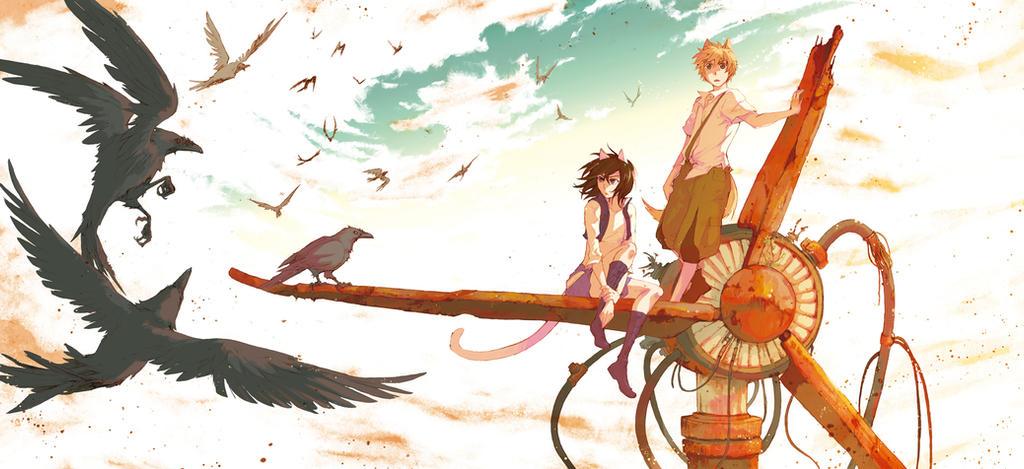 A traves del Khamsin-Cover by Hikari-Akagi