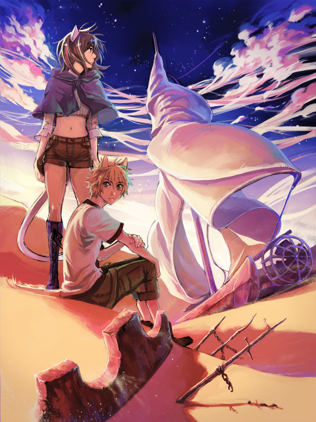 A traves del Khamsin promo by Hikari-Akagi