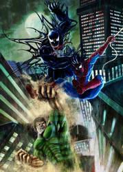 Spiderman by ahbi