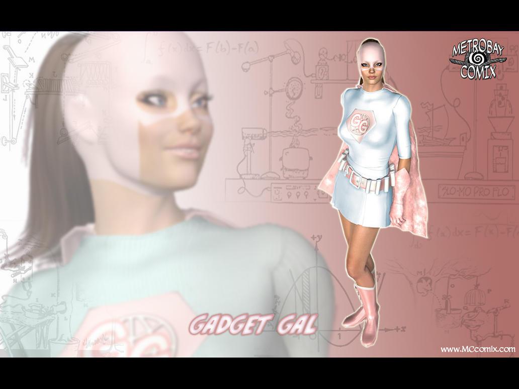 Gadget Gal wallpaper by Doctor-Robo