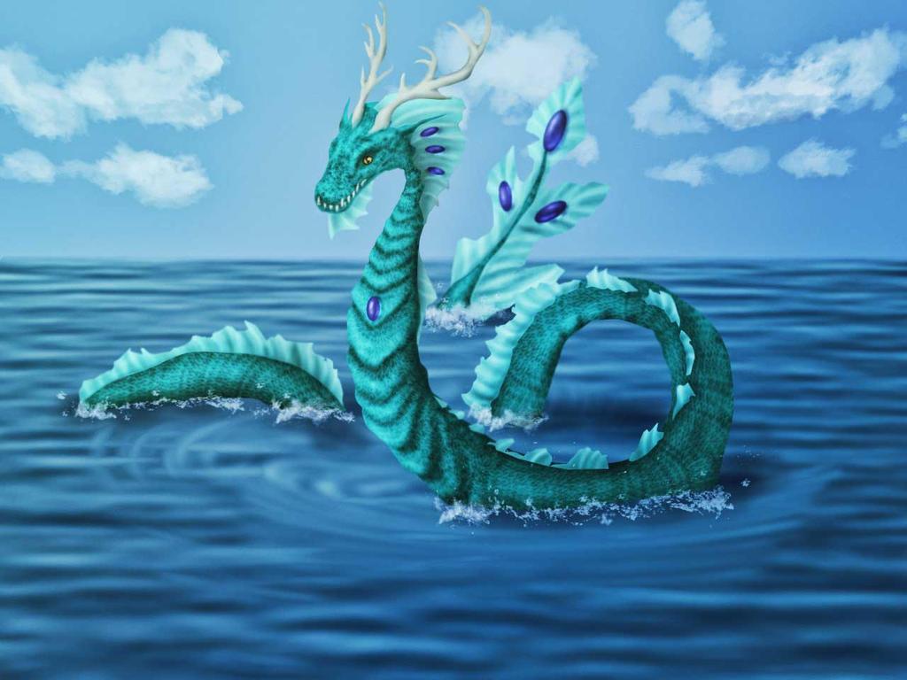 sea dragon by Liyamoon