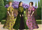 Lady Tremaine and her daughters