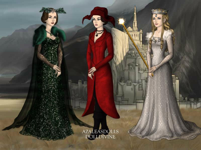 Evanora,Theodora and Glinda by AkhillesY on DeviantArt