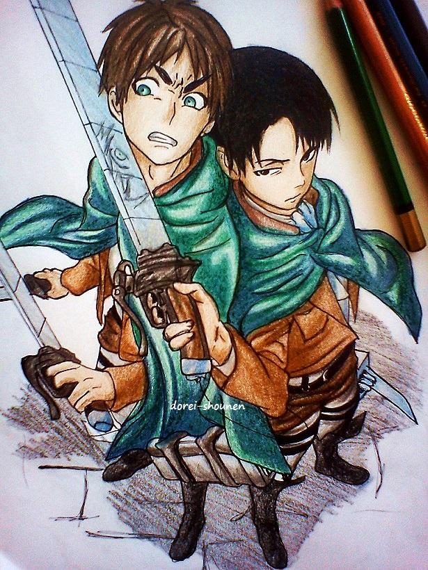 Eren, Levi! by DoreiShounen