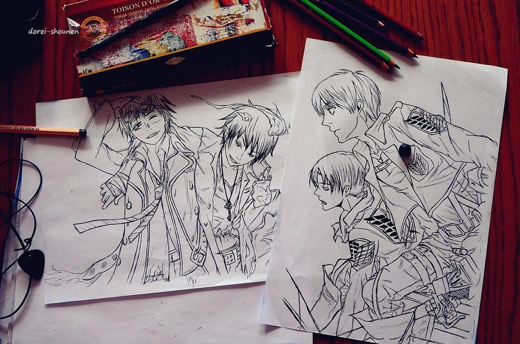 sketchs 06 by DoreiShounen