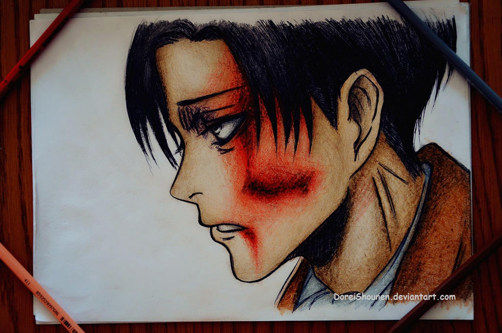 Levi, we have to keep moving by DoreiShounen
