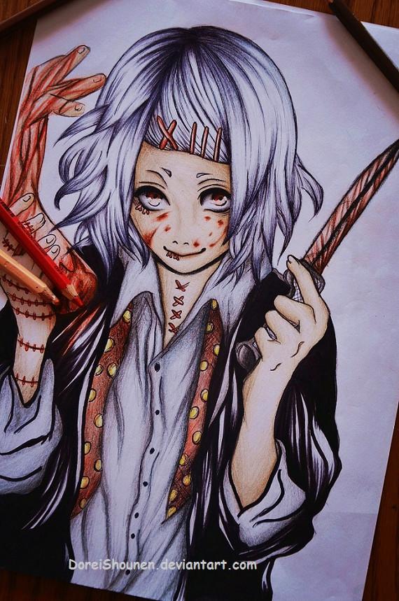Juuzou Suzuya Tokyo Ghoul by DoreiShounen