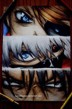 The eyes of madness