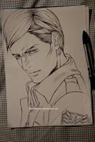 Erwin sketch by DoreiShounen