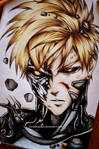 Onepunch man, Genos