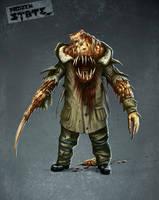 monster conceptart by DarkEnter