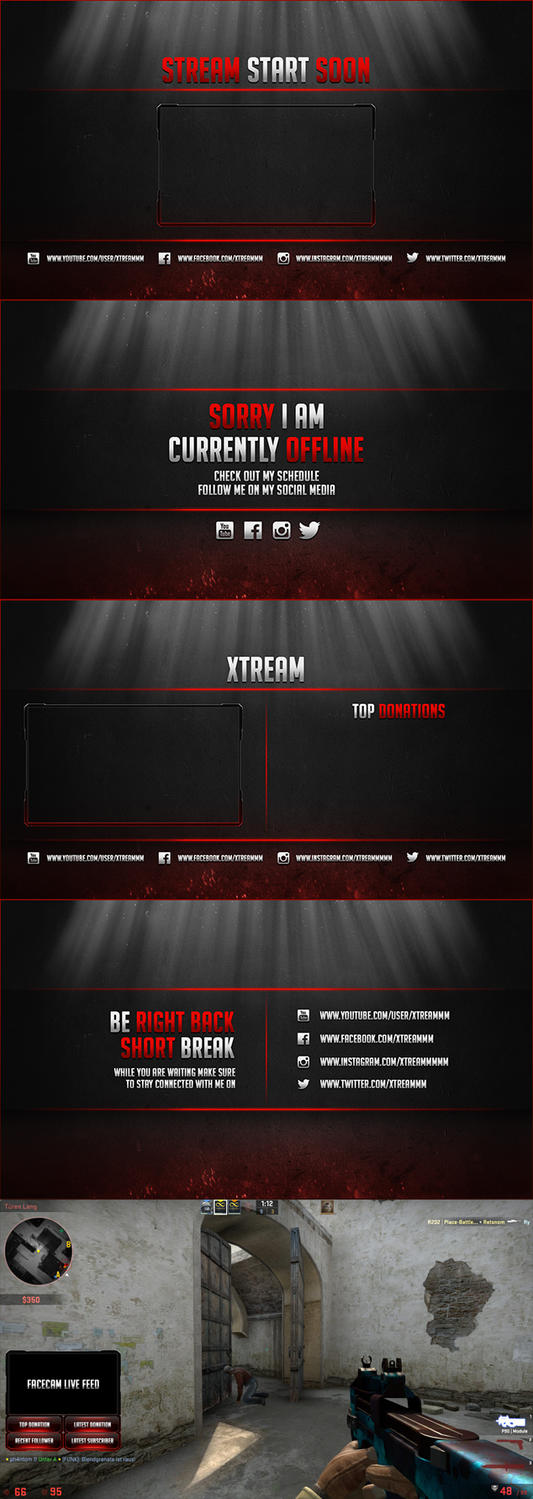 Twitch Streamer Design by 814200
