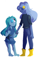 [comm] Topaz And Sapphire Pearl by bad-vibes-iva