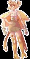 Peach Moonstone (gemsona fusion) by bad-vibes-iva