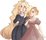 [comm] Dolores and Dolly | Present for Howlie-z