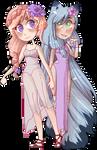 [comm] Amethyst and Maya