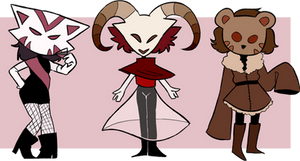 mask cuties adopt batch [open 1/3] by bad-vibes-iva