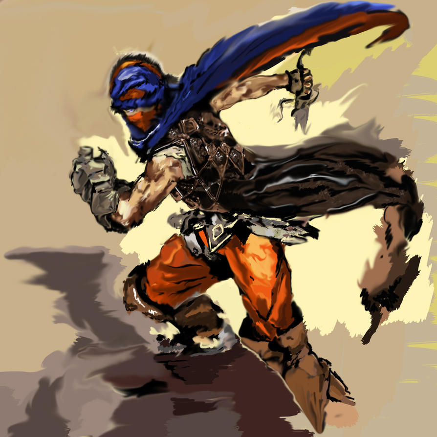 Prince of Persia WIP by AwesomeLemon