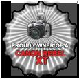 Rebel xt by JamesBensonArt