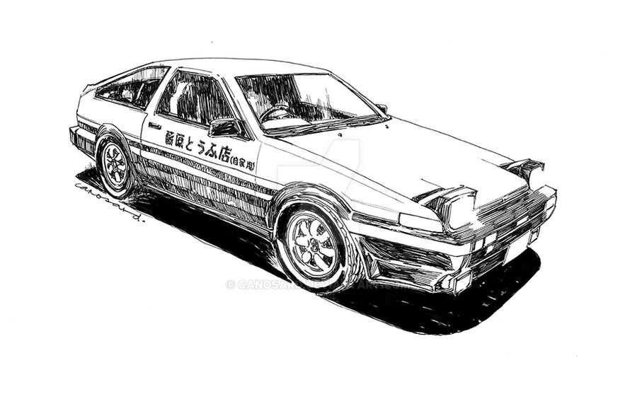corolla coloring pages | Corolla Drift Car Drawings Sketch Coloring Page