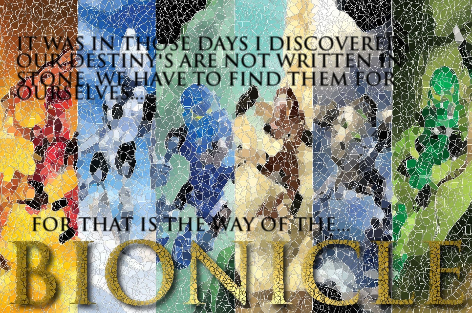 Bionicle Mosaic by airforce1129