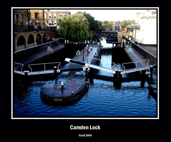 Camden Lock by ninja-bee