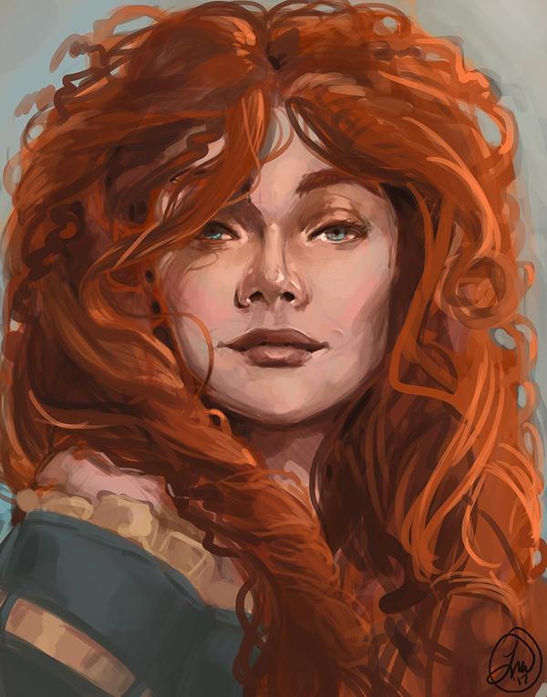 Merida by LaurenWalsh
