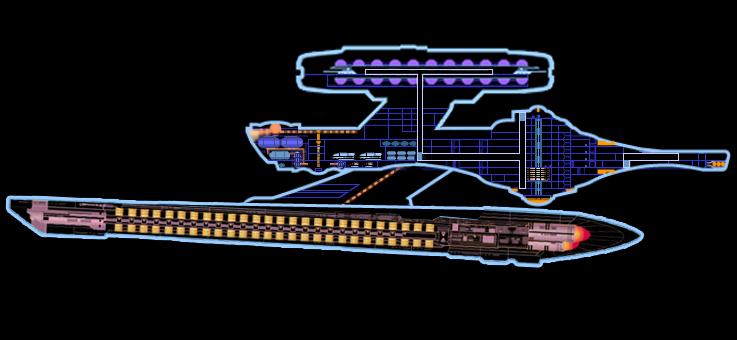 LCARS Miranda Class MkIV (Halifax type) by Cyklus07