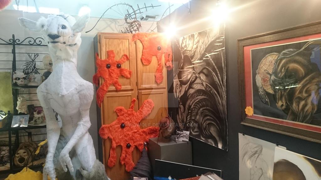glimpse into the studio  by VioWolf