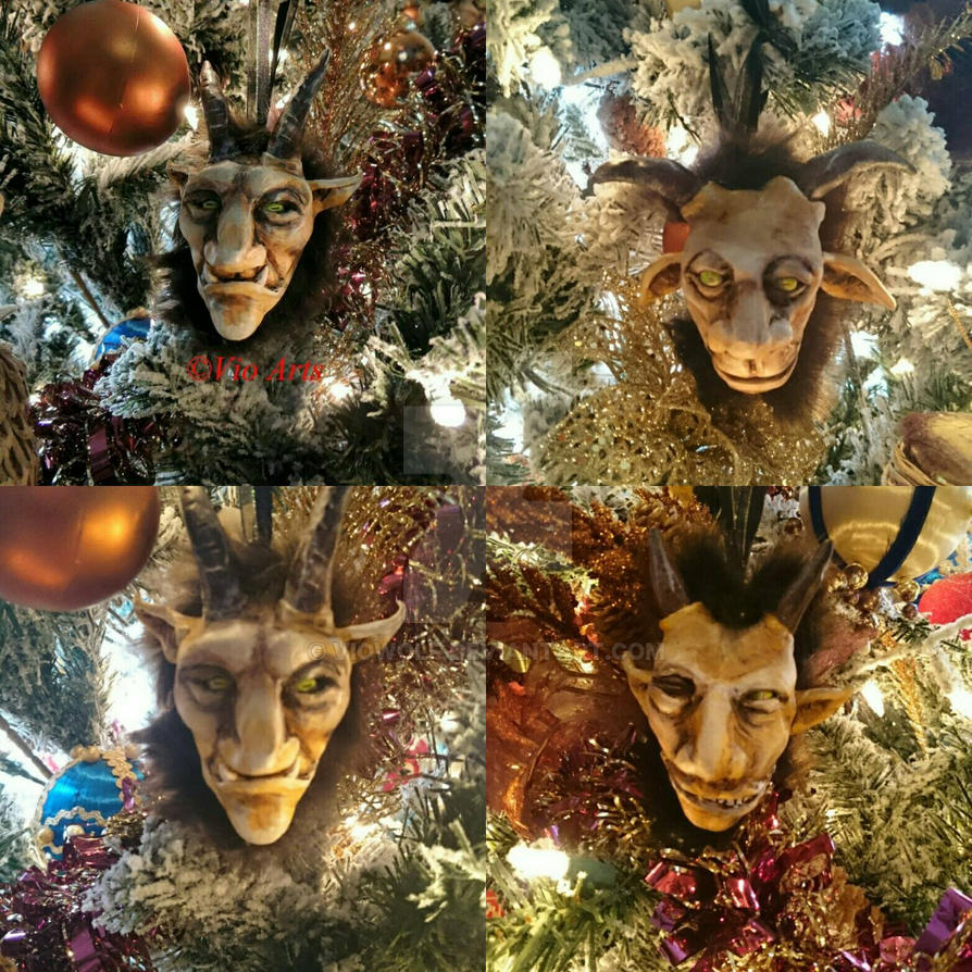 krampus ornaments  by VioWolf