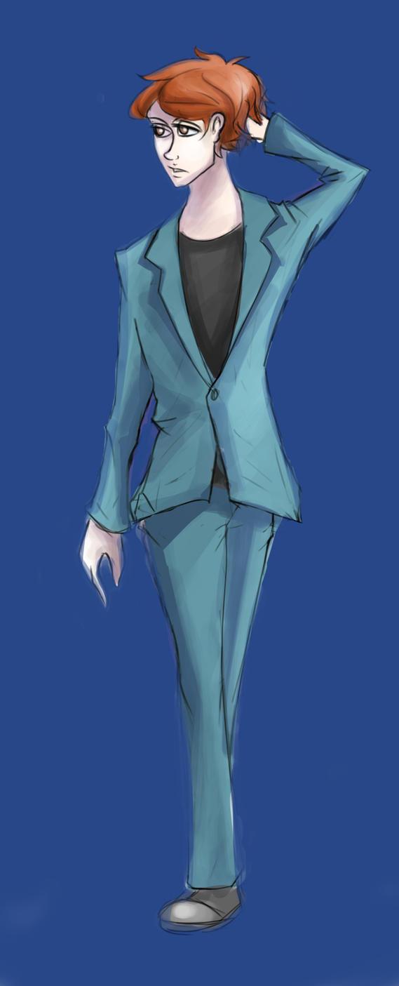 Armand sketch by NeilCfreak