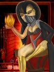 Fire Girl by EbonyCG
