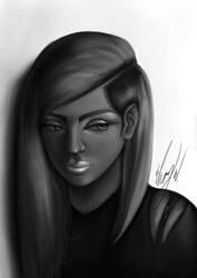 Side Eye by EbonyCG
