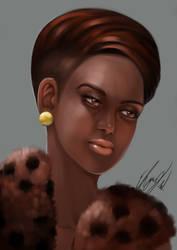 Nubian Queen by EbonyCG