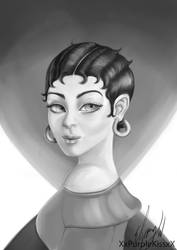 Betty Boop by EbonyCG
