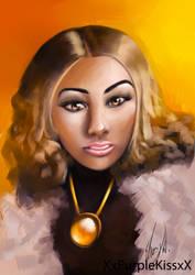 Anyce Jones Portrait by EbonyCG