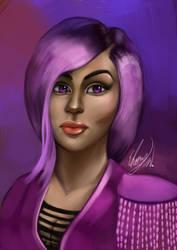 Star Watson Portrait by EbonyCG