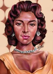 Dorothy Dandridge by EbonyCG