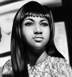Aretha Franklin by EbonyCG