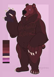 Cherry Cola Bear (open) by ghostcap